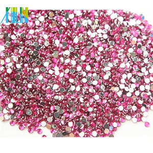 XULIN Flat back resin rhinestone beads for decoration