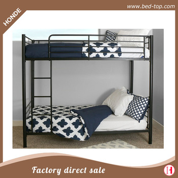 Hot Sale Black Double Decker Metal Bunk Bed For Adults View Metal