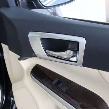 Toyota Camry Accessories >> Interior Car Accessories For Toyota Camry 2015 Abs Chrome Inner Door
