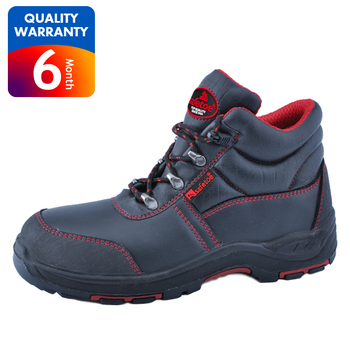 daf2b0f924539d Leather Upper Steel Tip Steel Nose Steel Bottom Safety Shoes Boots ...