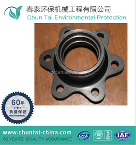 Factory directly sale forged CNC forklift steel brake drum