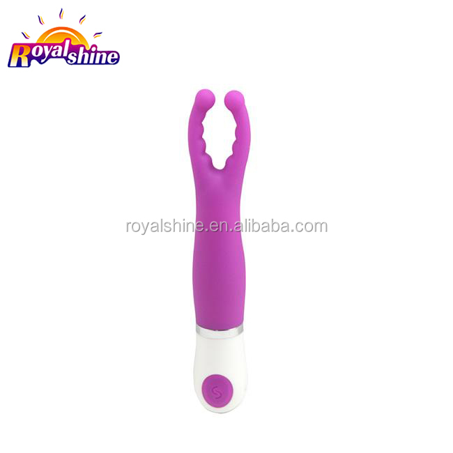 Sexual health products dual vibrating stick av vibrators