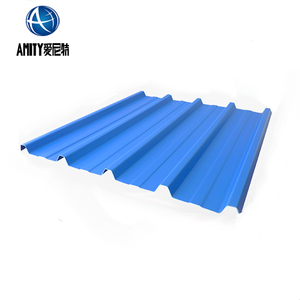 High Grade Color Painted Corrugated Aluminum Sheet For Industrial Uses