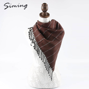 Good quality made in China soft elegant stoles mens viscose shawls