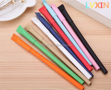 Students Use Colored Eco-friendly Paper Supply Ballpoint Pen