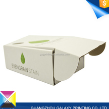 Paper box factory quality promotional durable white rectangular small corrugated box for package