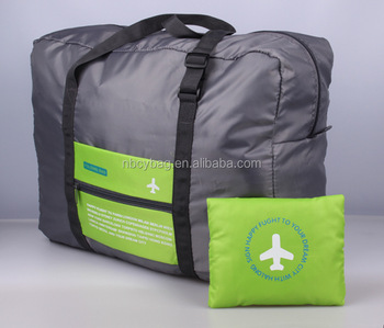 Chiyuan High quantity waterproof nylon flight folding travel bag