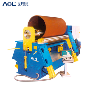 3-roller iron plate bend rolling machine / sheet metal plate bending machine