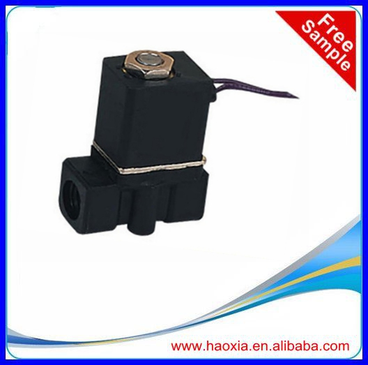 HAOXIA 2 way 2 position direct action plastic solenoid valve 2P025-06
