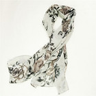 Lady chinese scarf with smooth feeling