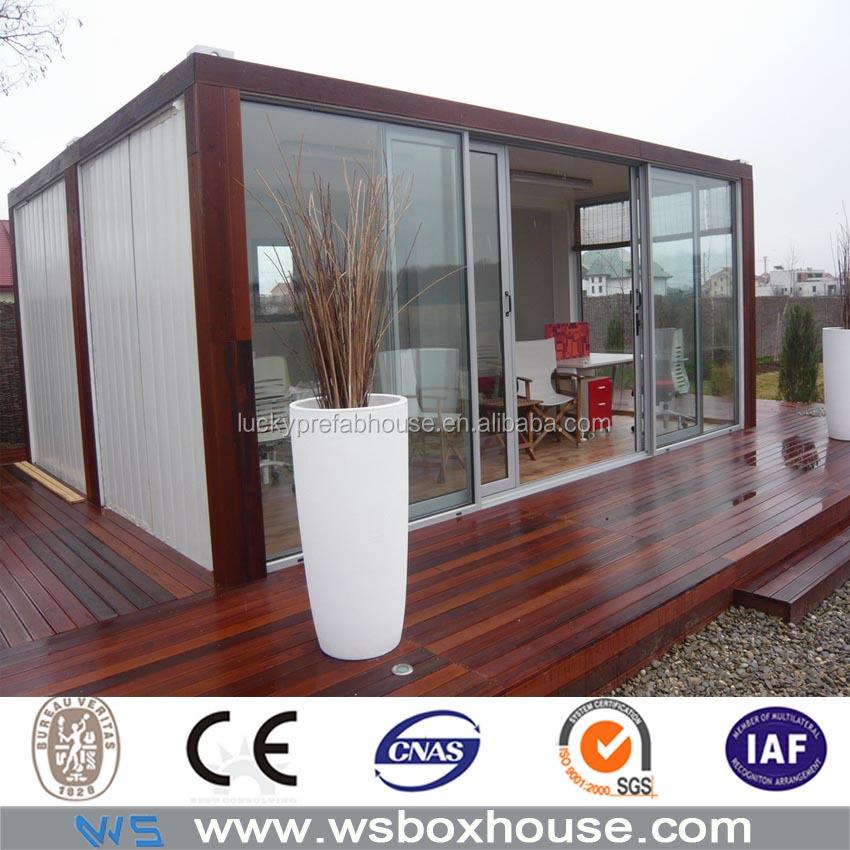 Geprefabriceerd huis aluminium glas aluminium glazen huis glazen huis tuin prefab huizen product - Scherm huis ...