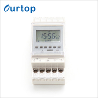 Minute (Pulse/Cycle 1 Sec) Minimum Interval Electric 24 Hour Programmable Digital Timer Switch