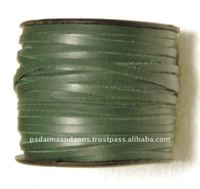 Flat Leather Cord For Jewelry