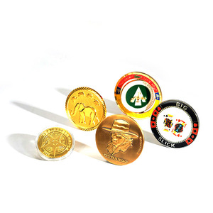 promotional metal custom souvenir coin maker