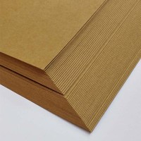 80g120g brown paper kids artists full size painting craft paper