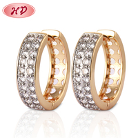 China Manufacturer Latest Fashion Jewellery Designs Diamond Earrings