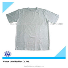 cheap customized men/ women short sleeve plain t-shirt wholesale