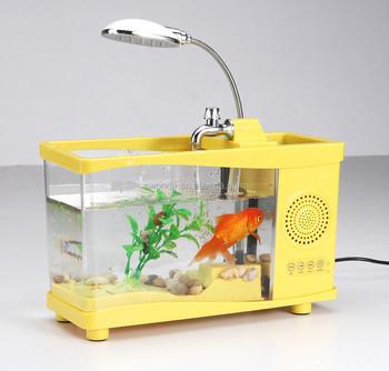 Fish Tank, Table Lamp, Brush Pot, Bluetooth Speaker