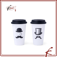 Magic hat pattern factory wholesale melamine tea cup coffee mugs with customized printing