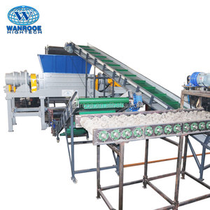 Cheap Car Tire Shredder Rubber Powder Production Line Waste Tyre Recycling Machine