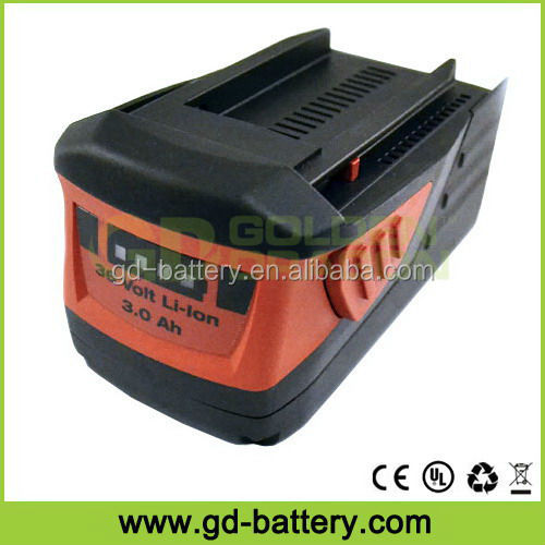 36V Power Tool battery Cordless Tool Battery for Hilti 36V TE 6-A WSR 36-A