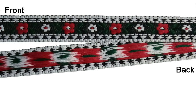 Personalisierte 100% Polyester Woven Band Dekorative Custom Jacquard Band