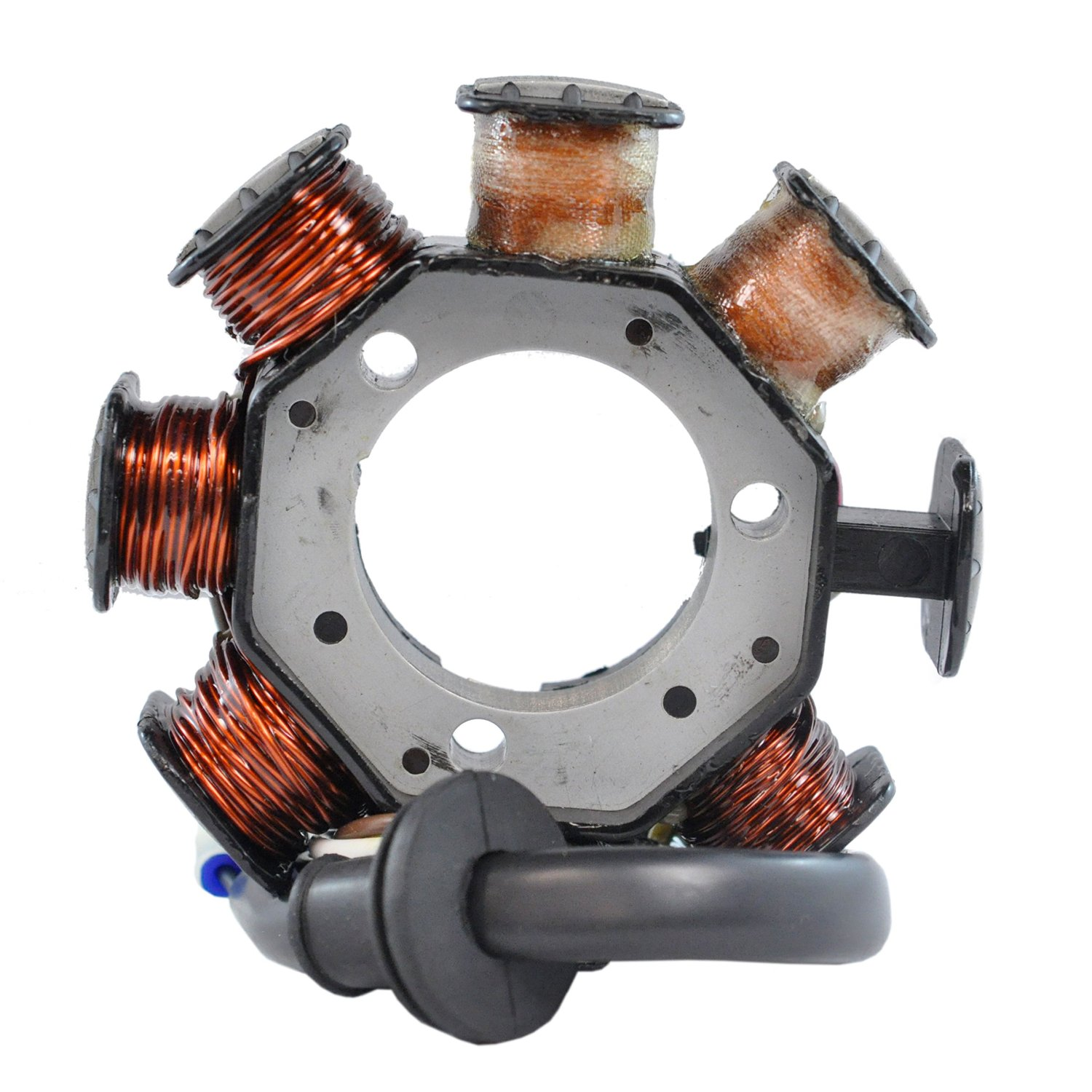 Stator for Yamaha V Max 500 / Deluxe / Electric Start / XT V-Max 600 / Deluxe / Electric Start / ST / XT 1995-1996 OEM Repl.# 8AB-85510-20-00 8AB-85510-10-00