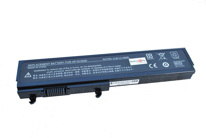 463305-341 HSTNN-OB71 HSTNN-LB31 KG297AA 468815-001 Replacement Laptop Battery 6-cells 5200mAh High Capacity for HP Pavilion DV3000 dv3500 dv3510NR DV3010tx DV3020tx DV3030tx Series Notebooks PCs (DI06)