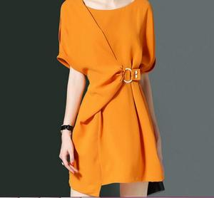 Guangzhou factory designer wrap dress for office