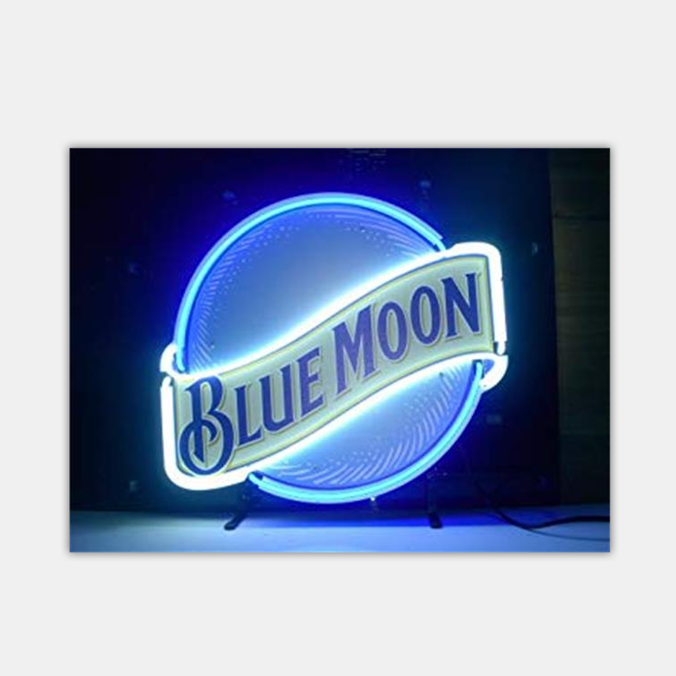 Wholesale China Factory Price Blue Moon Neon Sign For Home