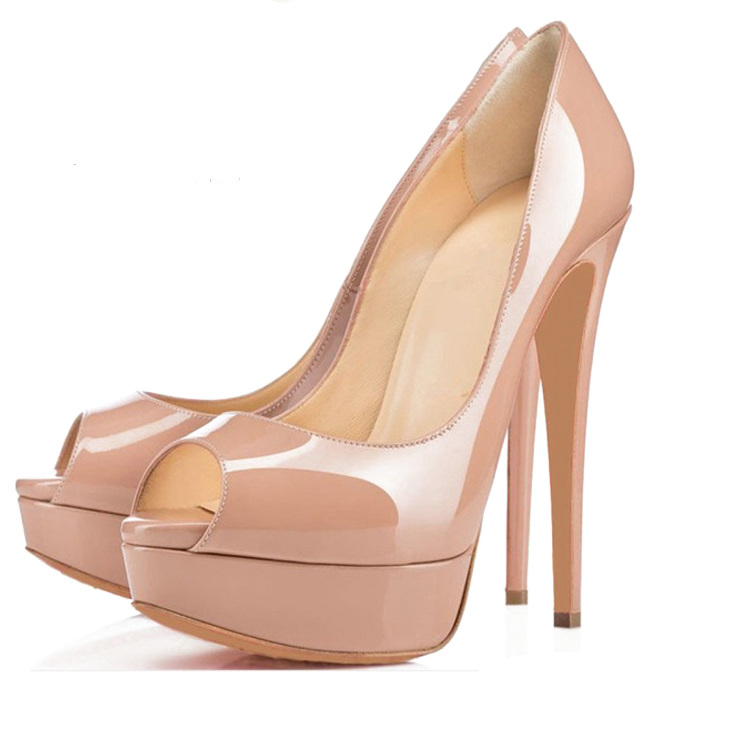 New Evening Dress Style Pencil Party High Pumps Platform Fashion Women Heel Shoes Gracozy Shoes Luxury BxdUBY