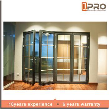 Latest Soundproof Folding Interior Bi Fold Door Multifold Doors