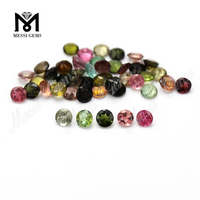 Multi Color Round Brilliant Cut Natural Tourmaline Price