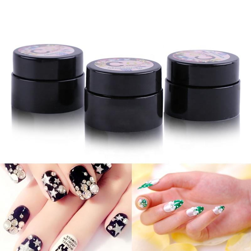 High quality nail art sticky decoration diamond nail glue
