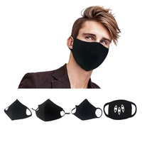 patterns cartoon reusable air pollution antiviral wind cotton fabric cloth face mouth dust mask