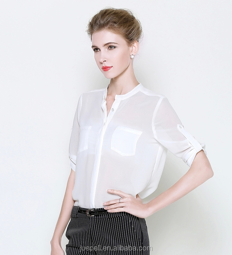 Women S Chiffon Blouse And Skirt Blouse Designs For Office Fashion Blouse View Design Skirts And Blouse Juepell Product Details From Guangzhou Juepell Fashion Company Ltd On Alibaba Com