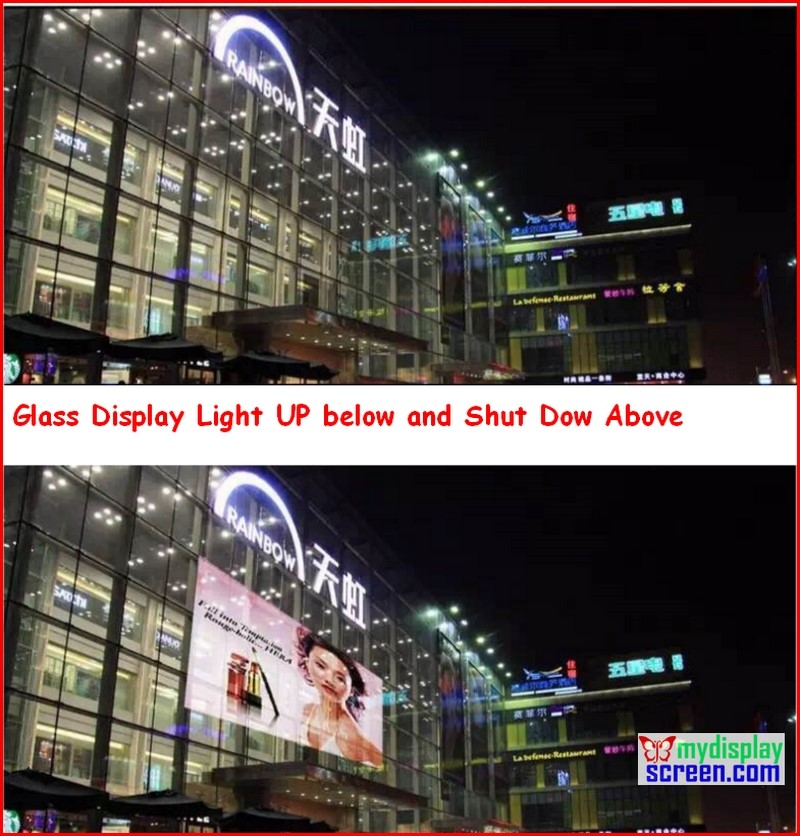 Video Display Function high transparency led display video wall 500mm*500mm size, 7.81MM