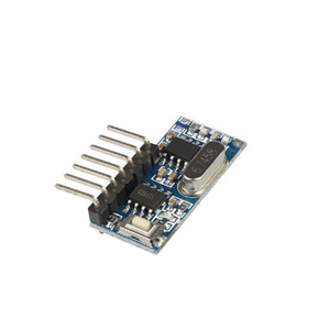 433mhz RF Relay Wireless Receiver Output Learning Code Button EV1527  Encoding Decoding Remote Control Switch Module