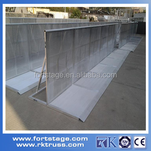 Fashion Show Supply Stainless Steel Concert Crowd Control Barrier ...