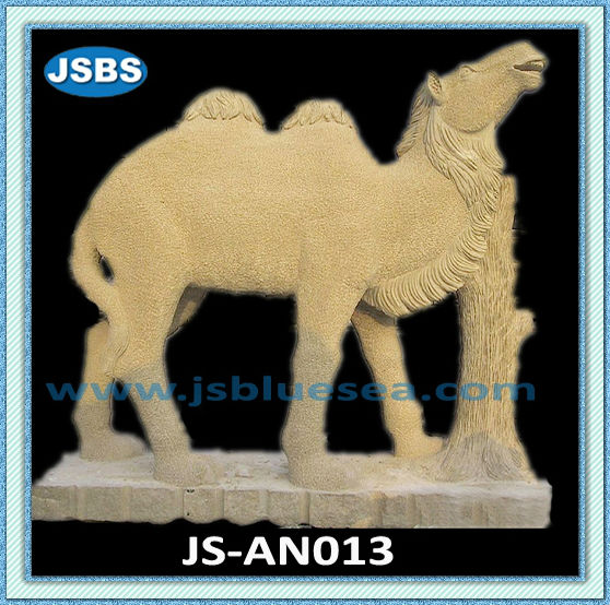 Carved Cheap Natural Egypt Cream Camel Sculpture For Sale