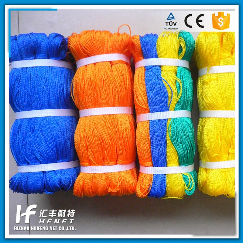New Colored Nylon Polyester Twisted Cotton Twine