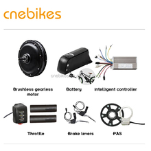 48v 1000w hub motor electric bicycle conversion kits with dophine battery