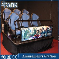 Factory Direct Sale 5d cinema 7d gun shooting game rides theater