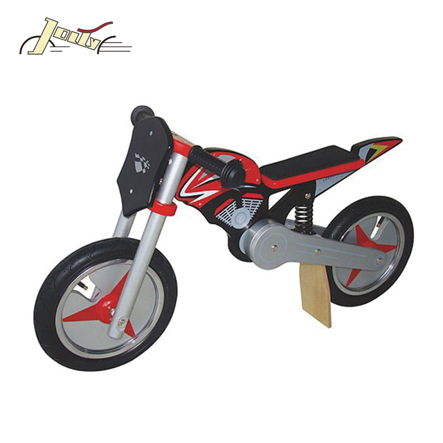"Motowonder Motorcycle Style 12"" Wooden Balance Bicycle for Kids 12"" Wooden Balance Bicycle"