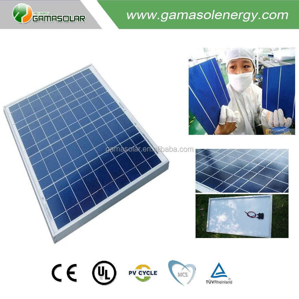 High watt 300w pv power poly solar panel for house farm factory in chile