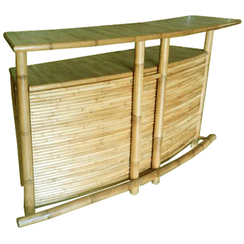 Btb112- Modell Bambus Theke/bambus Tiki Bar/home Bartheke/ - Buy ...