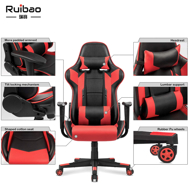 Hot Sale PC Computer Chair Gamer Racing Chair Gaming Chair