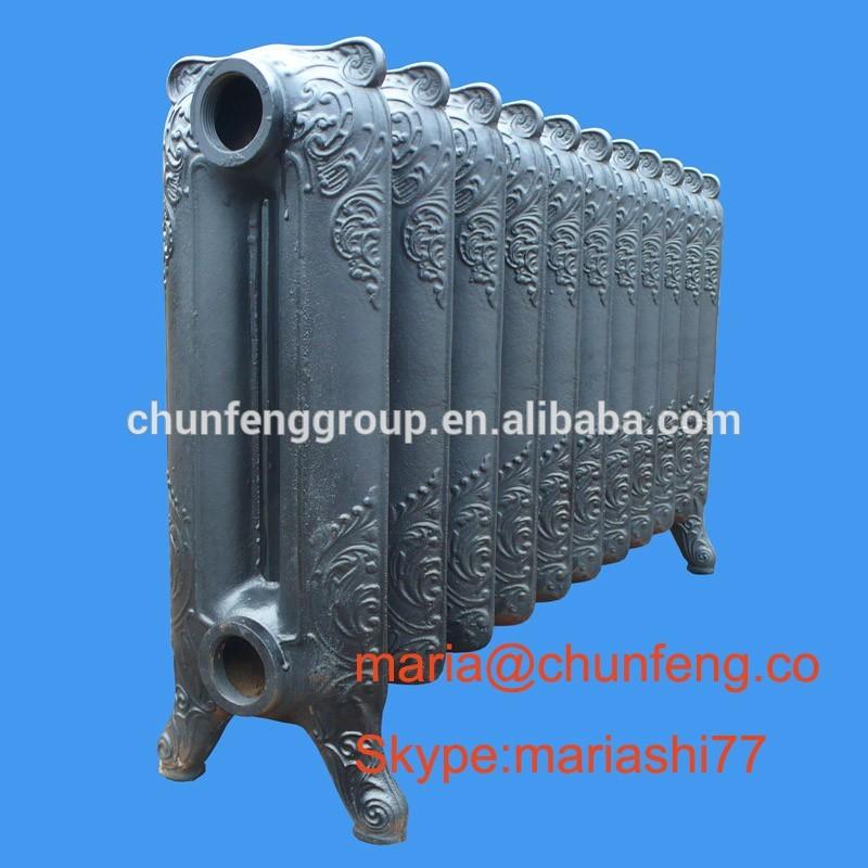 Radiadores de calefacci n retro v2 350 radiador de hierro - Radiadores hierro fundido ...