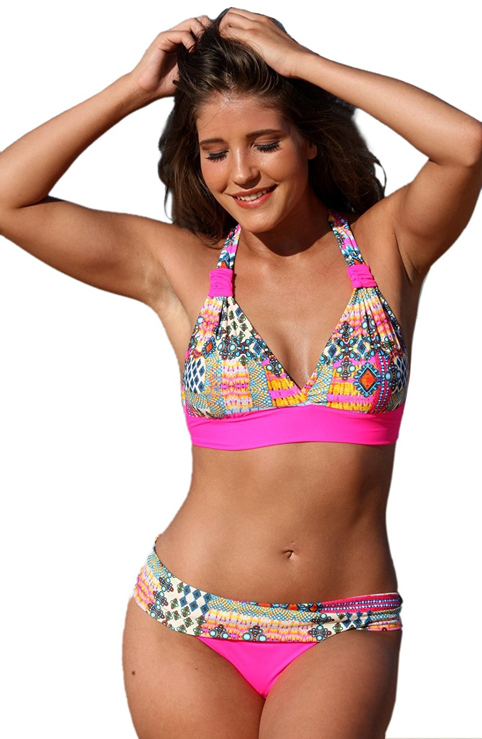 Buy Adidas Bikini With Logo Bands In Black For Womens