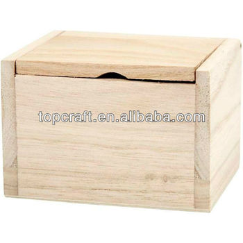 Small Wooden Flip Top Box Lid Storage 40cm Decoratepersonalise Art Inspiration Small Wooden Boxes To Decorate